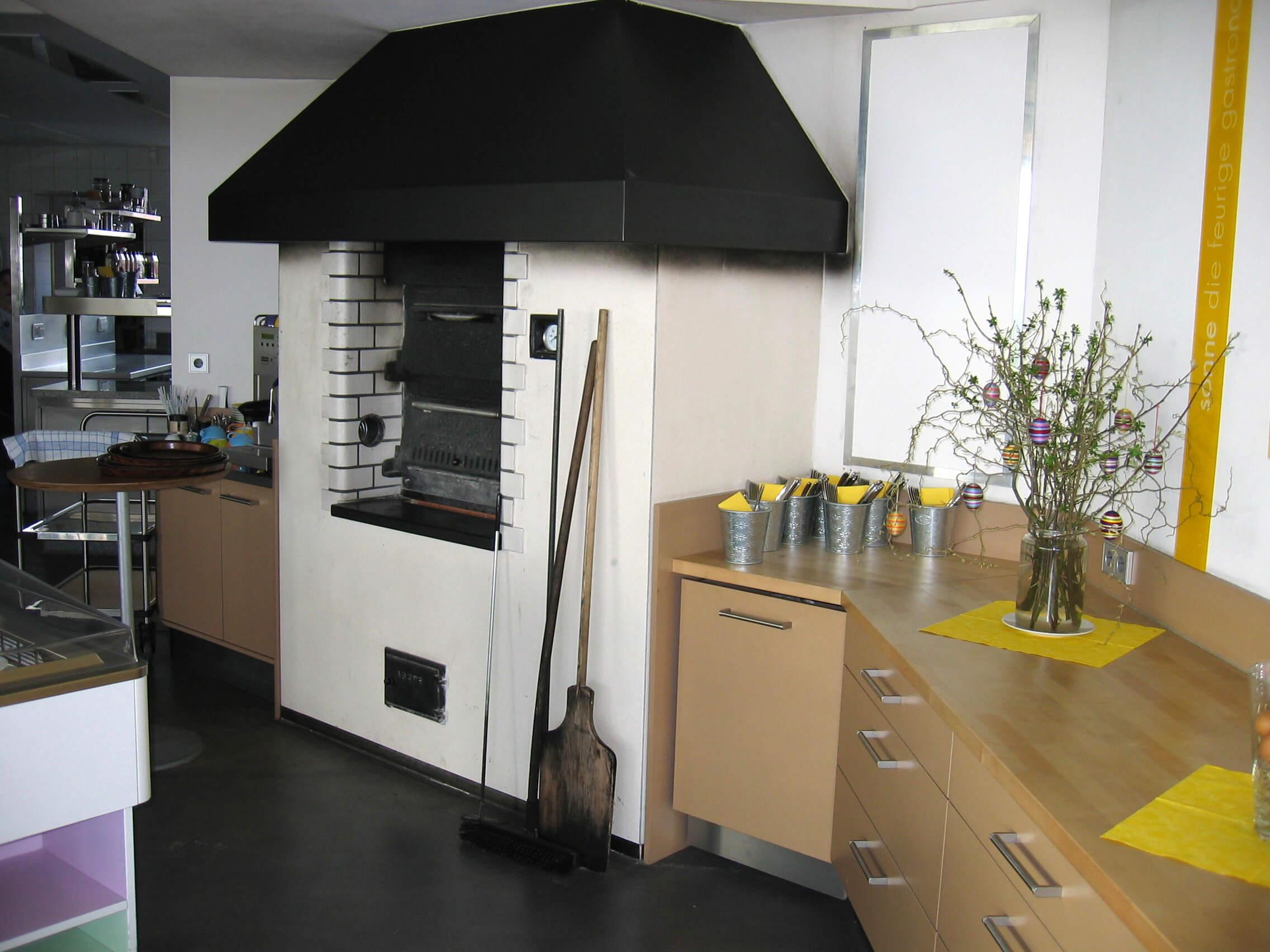 Gewerbliche Holzbacköfen – Ofenbau Busam