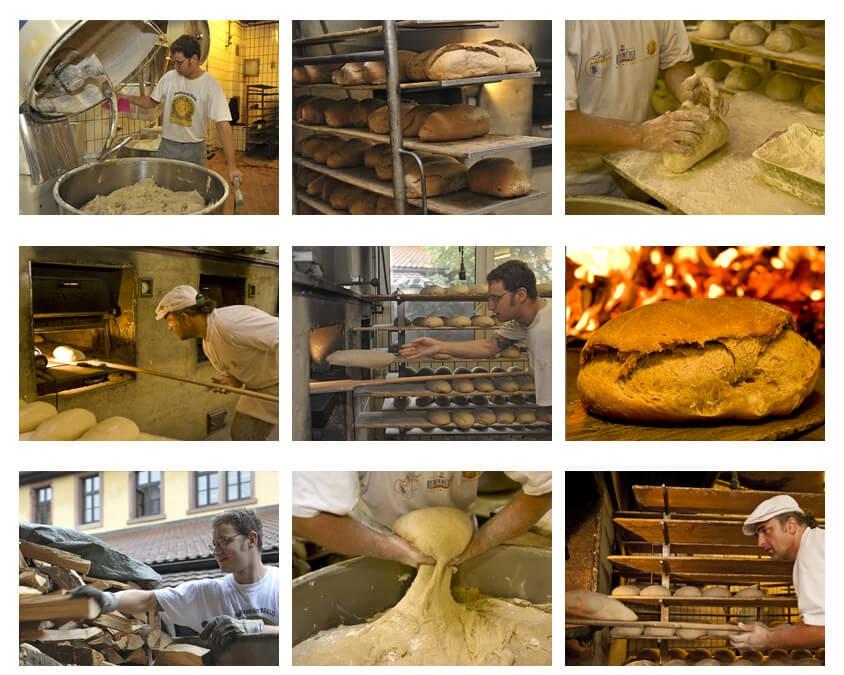 Busam, Holzbackofen, REKORD, Appelt, Holzofenbrot, wood baking oven, four bois